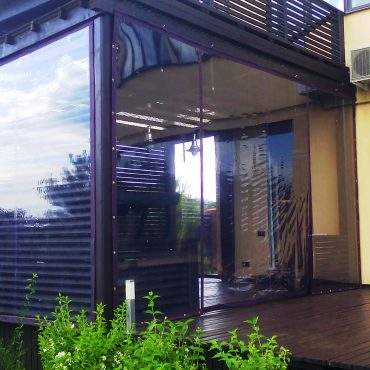 Увеличение площади для приема гостей - Мягкие окна Сумы