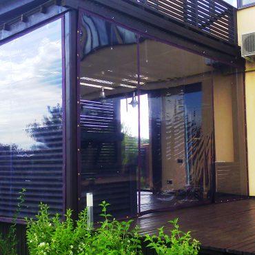 Збільшення площі для прийому гостей - М'які вікна Суми
